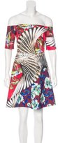 Clover Canyon Printed Off-The-Shoulder Dress