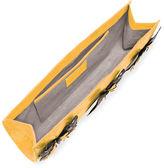 Nancy Gonzalez Butterfly Crocodile Razor Clutch Bag