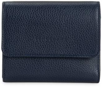 Longchamp Le Foulonne Leather Wallet