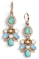 Marchesa Women's Paradise Cluster Drop Earrings