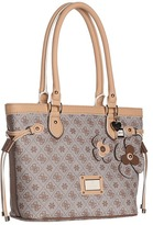 GUESS Persuasion Small Carryall (Mocha) - Bags and Luggage