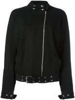 IRO asymmetric zip biker jacket