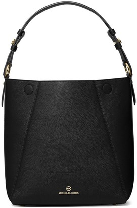 MICHAEL Michael Kors Medium Lucy Leather Hobo Bag