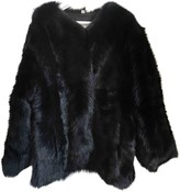 R 13 Black Shearling Coats