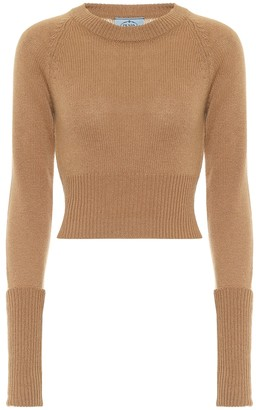 Prada Ribbed-knit cashmere sweater