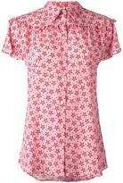 P.A.R.O.S.H. Sting star print shirt - women - Silk/Spandex/Elastane - M