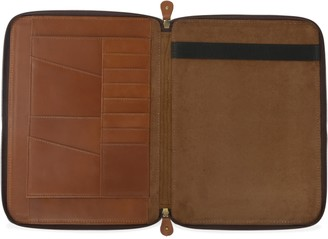 Vida Vida Classic Tan Leather A4 Document Holder