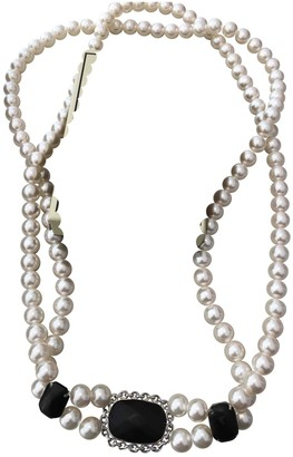 By Malene Birger Beige Pearl Necklaces