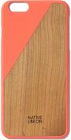 Native Union Orange Clic Wooden Iphone6+ Case Cherry