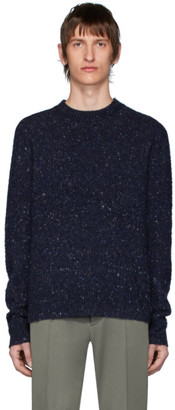 Acne Studios Blue Pilled Melange Sweater