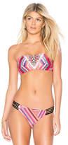Seafolly Desert Tribe Bandeau Bikini Top