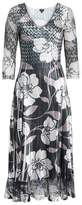 Komarov Women's Floral A-Line Dress