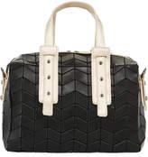 Patrizia Luca Two-Tone Geo Tile Mini Duffle Bag