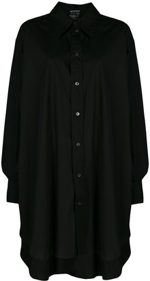 Ann Demeulemeester Oversized Shirt Dress