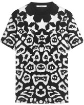 Givenchy T-shirt In Printed Cotton-jersey - Black