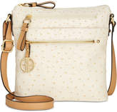 Giani Bernini Ostrich Printed Crossbody, Created for Macy's
