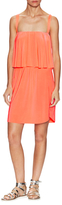 T-Bags LosAngeles Gathered Overlay Dress