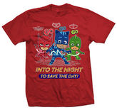 Licensed Tees Superhero Graphic Cotton T-Shirt
