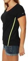 Nike Women's Dri-Fit Running Scoop Neck T-Shirt-Small