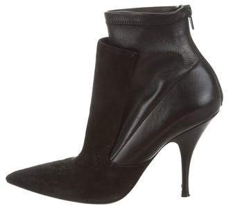 Givenchy Pointed-Toe Ankle Booties