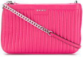 DKNY quilted crossbody bag - women - Lamb Skin - One Size