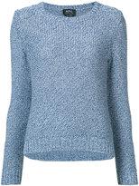A.P.C. tweed jumper