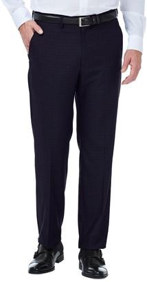 Haggar Men's J.M. Premium Classic-Fit Flat-Front Stretch Suit Pants