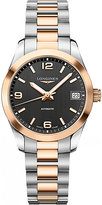 Longines L2.785.5.56.7 Conquest Classic Stainless Steel And Rose Gold Watch