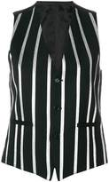 Each X Other striped waistcoat