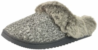 Rampage Women's Faigel Faux Fur Lined Cushioned Slipper