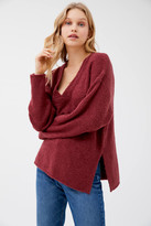 UO Rosie Cozy V-Neck Pullover Sweater