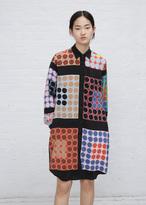 Wunderkind multi color polka dot polka dot shirt dress