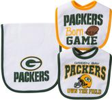 Gerber Green Bay Packers Three-Piece Bib Set