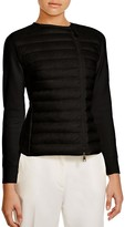 Moncler Lightweight Quilted Front Jacket