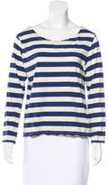 Current/Elliott Striped Long Sleeve Top