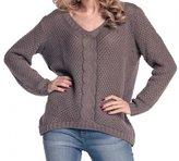 CAPRI MODA * Womens Chunky Cable Knit Jumper Pullover Sweater Top * DAISY