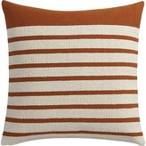 "CB2 Division Rust 20"" Pillow"