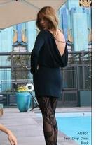 Nightcap Clothing Tear Drop Dress in Black