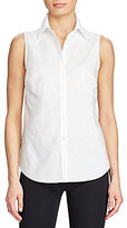 Lauren Ralph Lauren Cotton Sleeveless Shirt