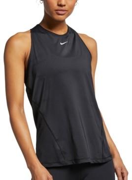 Nike Women's Pro Mesh Racerback Tank Top