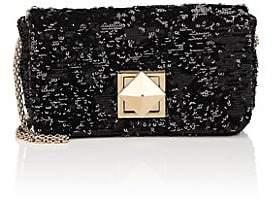 Sonia Rykiel Women's Le Copain Medium Sequined Chain Shoulder Bag - Black