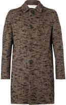Altea Chester Herringbone Tweed Coat - Sand