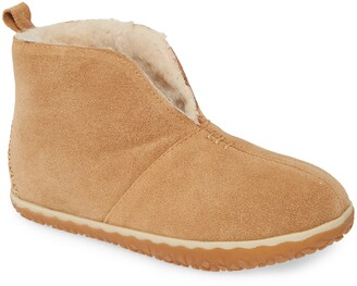 Minnetonka Tuscon Bootie with Faux Fur Lining