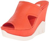 Nine West Women's Winsome Leather Wedge Sandal