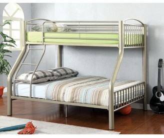 Zoomie Kids Perreault Kids Bed Size: Twin over Full