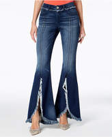 INC International Concepts Frayed Tulip-Hem Jeans, Created for Macy's