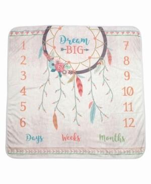 "Lillian Rose Dream Big"" Boho Baby Blanket"