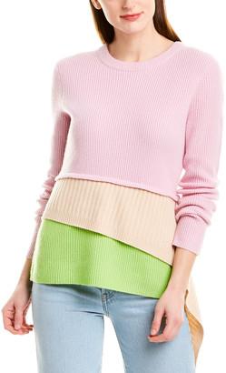 Sies Marjan Tier Wool & Cashmere-Blend Sweater