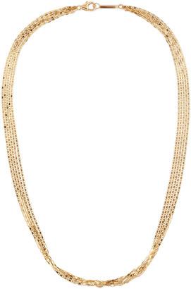Lana 14k Malibu 5-Strand Choker Necklace