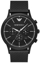 Emporio Armani Men's Chronograph Mesh Strap Watch, 43Mm